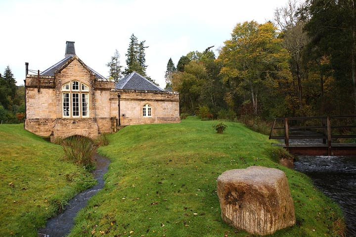 Otter Lodge Rosehaugh Estate, unique self-catering