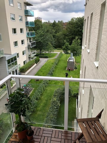 Two bed rooms appartement in a quiet area..