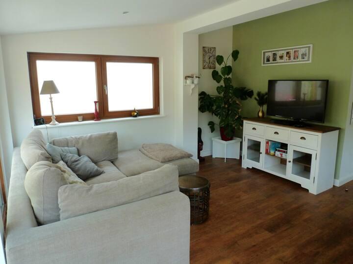 idyllisches Ferienhaus im Grünen am Ruppiner See