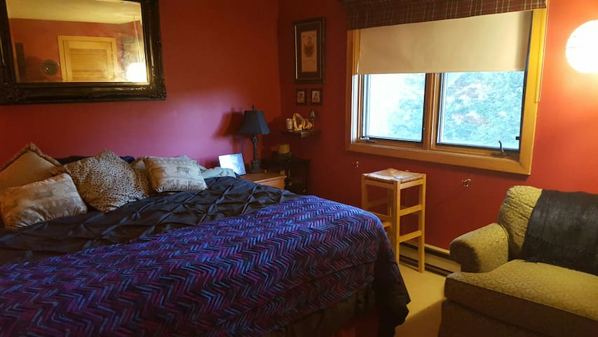 Mount Snow/Crosstown Ski House-room 1 sleeps 2-3
