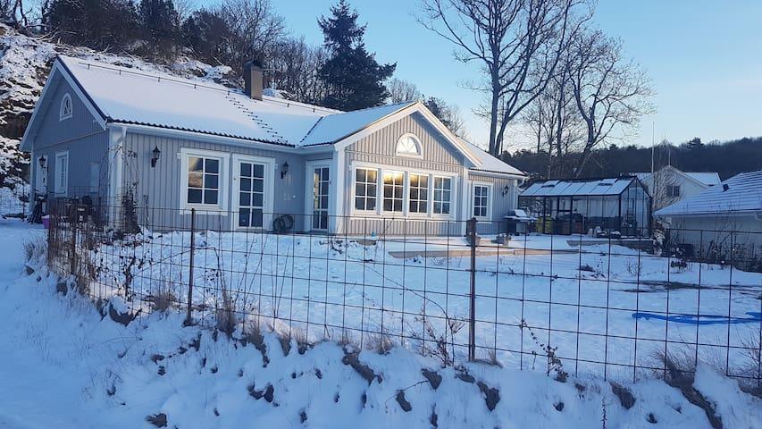 Härlig villa med utsikt över hästhagar - Kullavik - Haus