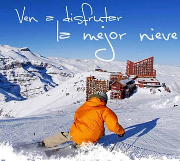 Venha desfrutar da melhor neve Come and enjoy the best snow