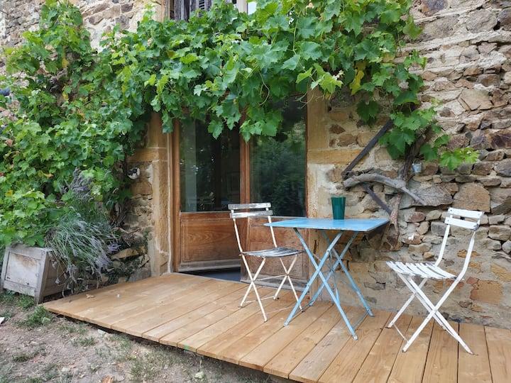 Logement champêtre en Beaujolais