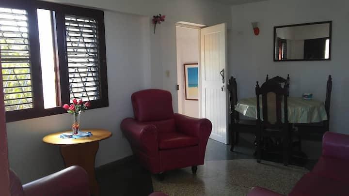 La casa de Angela en Guanabo