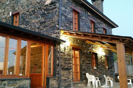Casa rústica típica gallega