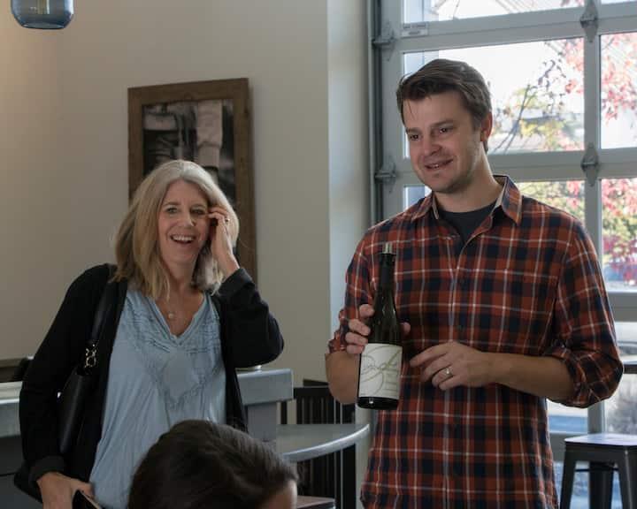 Meeting the winemaker
