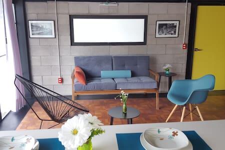Cozy Loft New Yorker style 3 - Cidade do México - Apartamento