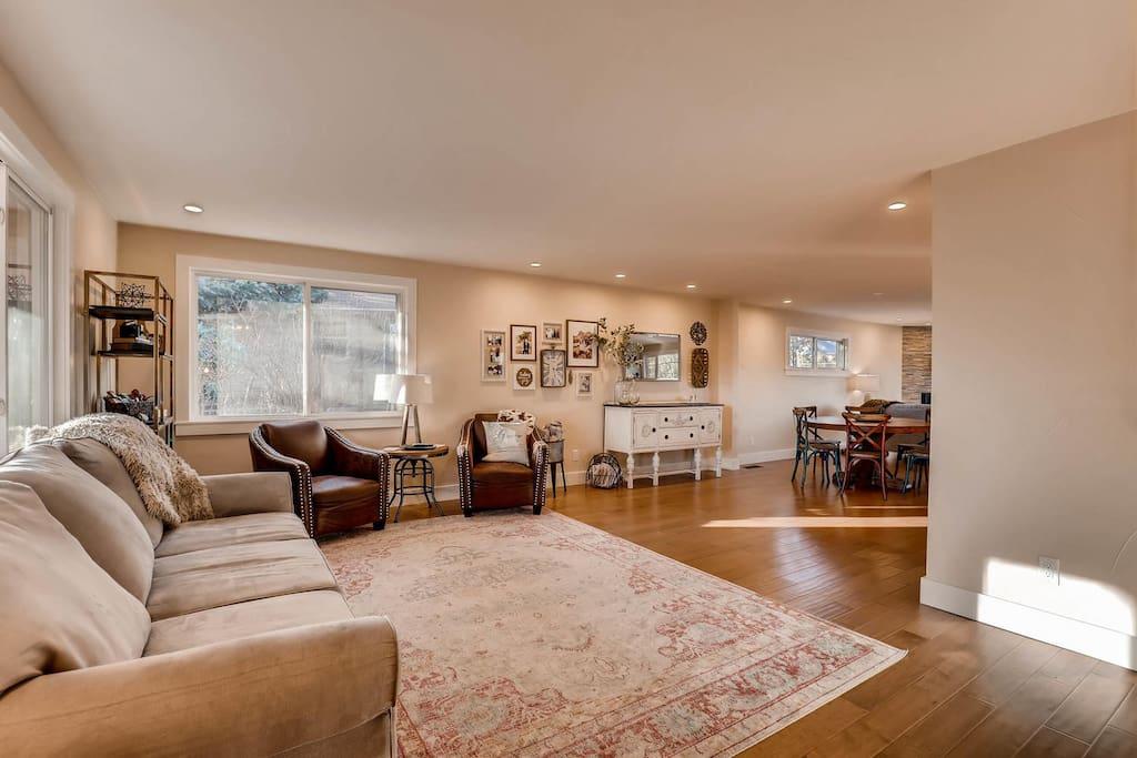 Main level living room.
