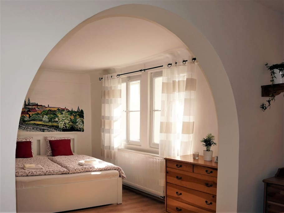 Apartmán č.201 - pohled na pokoj