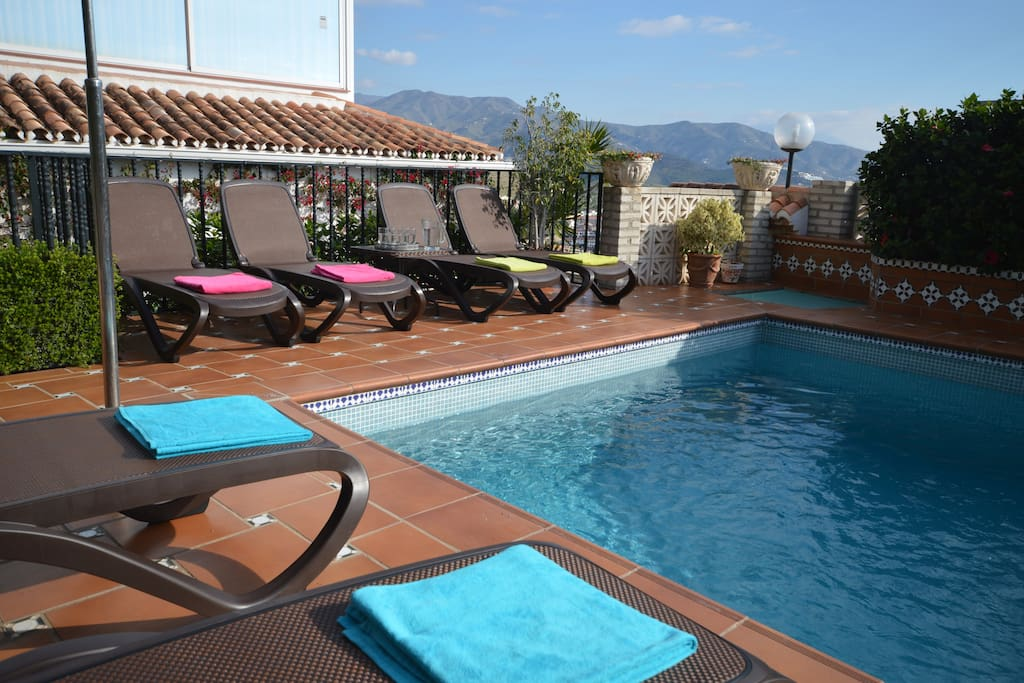 Exclusive use of private pool and terrace