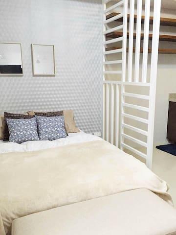Cozy Studio Unit at Midori Res - Ciutat de Mandaue - Pis