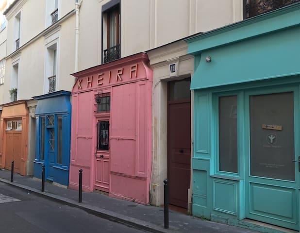Appartement calme, rue Sainte Marthe