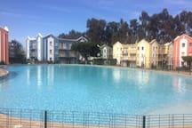 Lindo dpto. en cond. Mirasol 6 pers. con piscinas