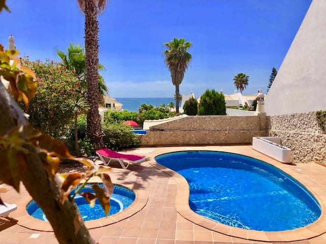Villa with Sea View, Private Pool and Jacuzzi