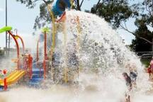 Kids waterplay area at Lambton Pool