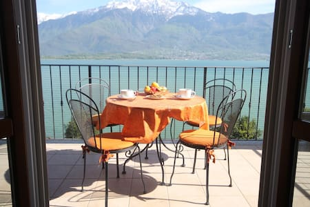 Casa Zen Lake view & private beach - Gera Lario - Byt
