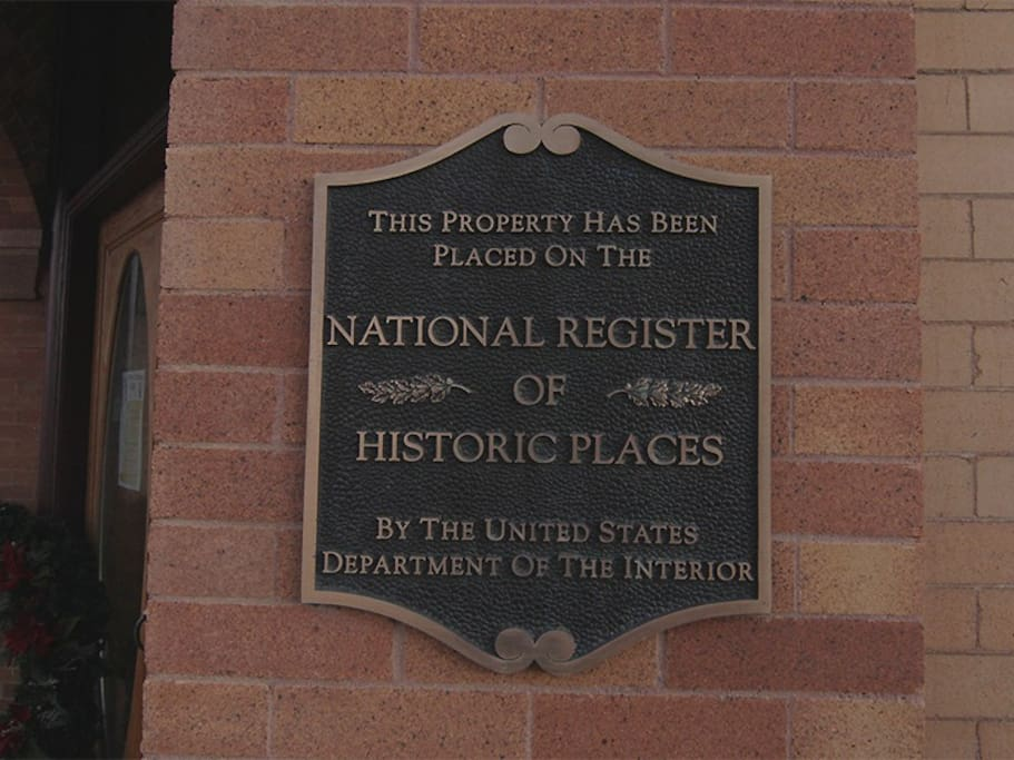 This property has been placed on the National Register of Historic Places