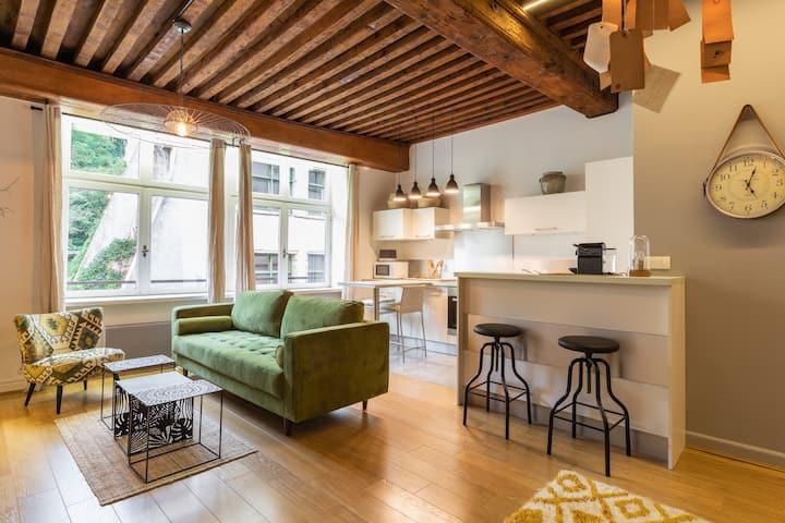 Appartement déco et cosy au cœur du vieux Lyon