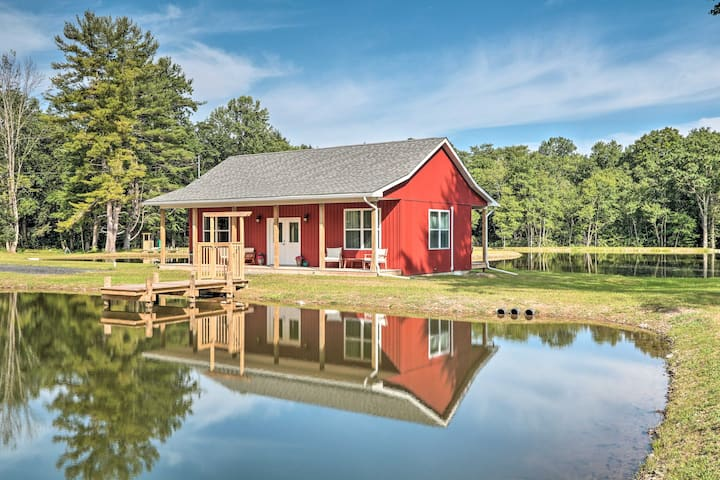 NEW! Cottage w/Pond Views ~ 13 Mi to Camelback Mtn