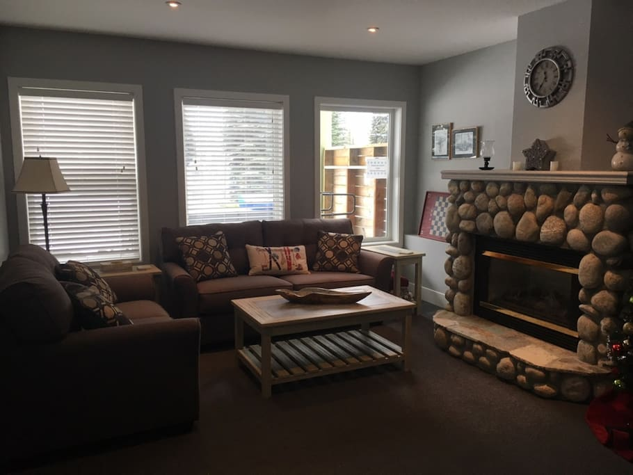 Newly Renovated Living Room with Double Sofa Bed