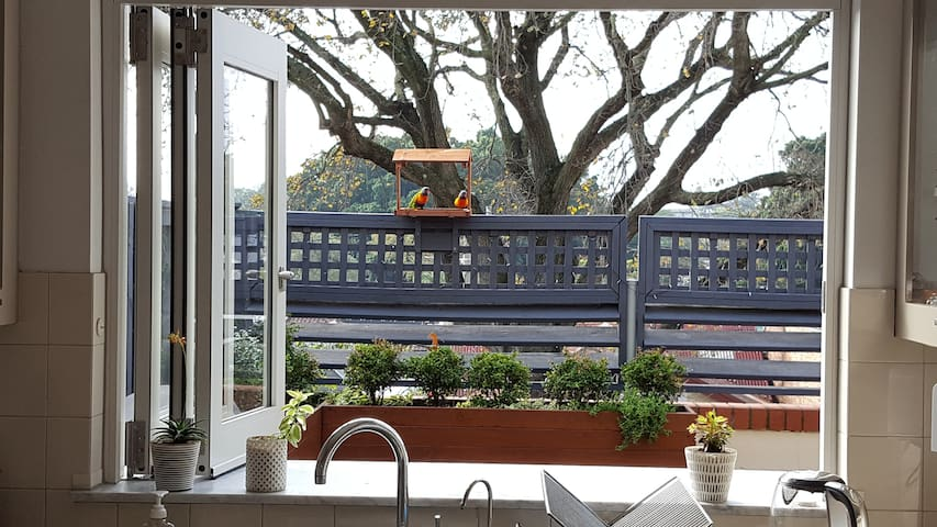 Beautiful outlook, perfect place to relax and enjoy inside & out!