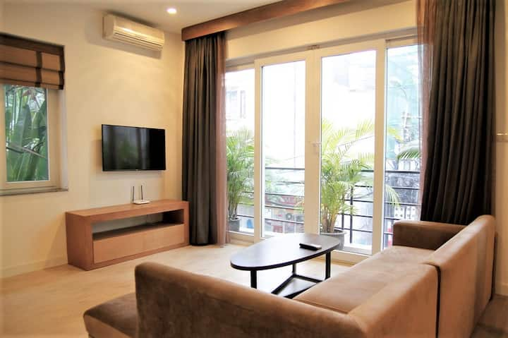 Charming & cozy 1BR apartment in West Lake/ Tay Ho