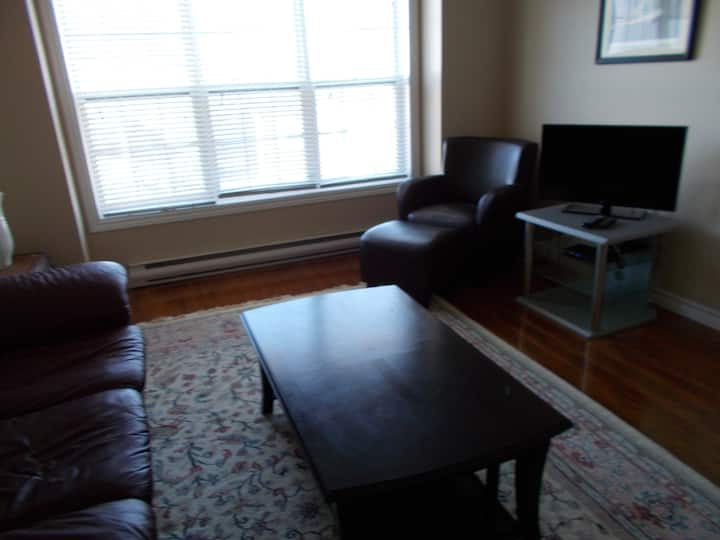 2 Bedroom Condo w. Parking near Downtown