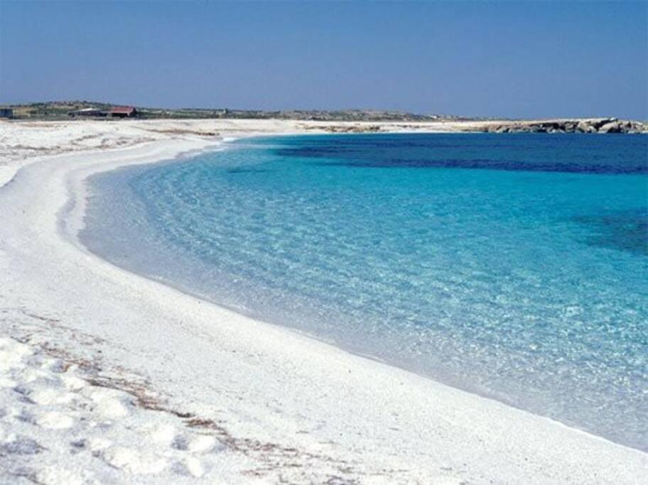 vicina spiaggia di Is Aruttas
