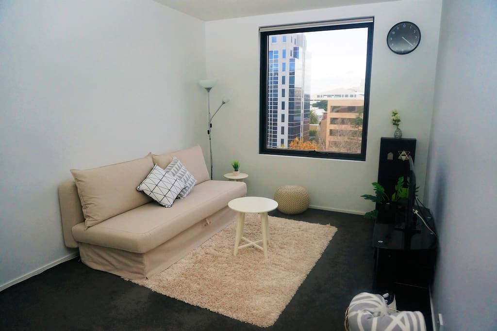 Newly furnished comfortable living room