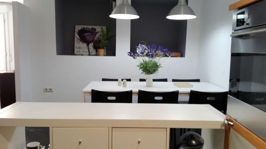 Duplex renovado en centro histórico - Segovia - Condominium