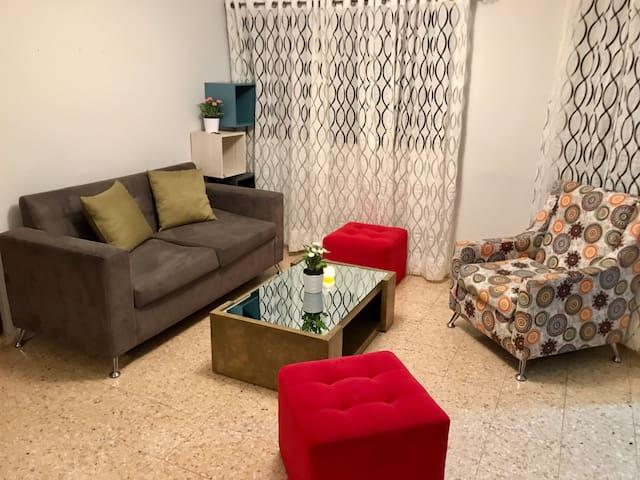 BEAUTIFUL Apt WiFi+AC in heart of Santo Domingo