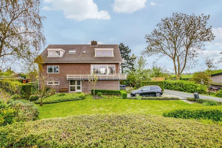 Large riverfront villa close to Amsterdam/Utrecht