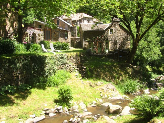 17-19th century Watermill in the wild Tarn Valley!