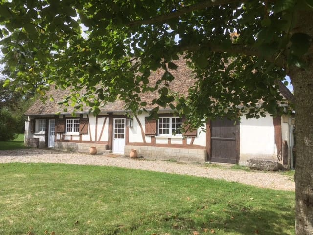 Jolie longère normande près de Giverny/Eure