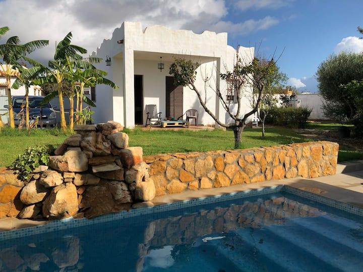 Casa Carjul en Conil con piscina privada para 5 p.