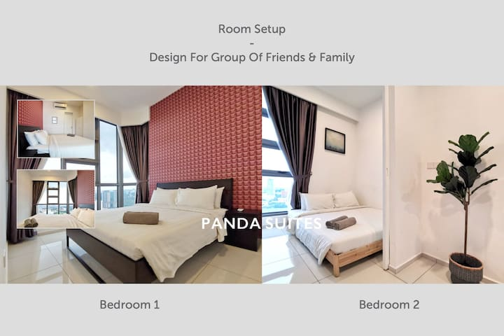 French Window ✿WiFi✦Kitchen ✿GYM ✦Nr Bukit Bintang