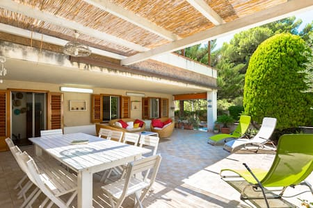 Lovely villa 50mt from the beach - Marina di Ragusa