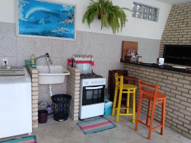Suite com ar condicionado Ambiente tranquilo