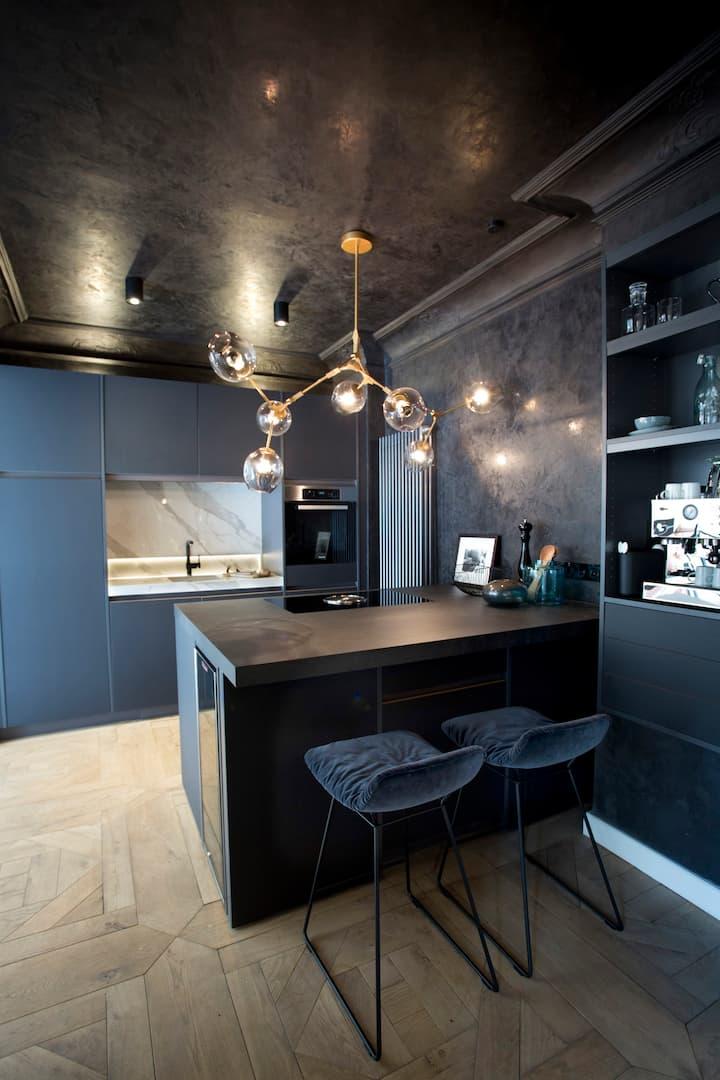 luxury apartment with amazing outdoorpool