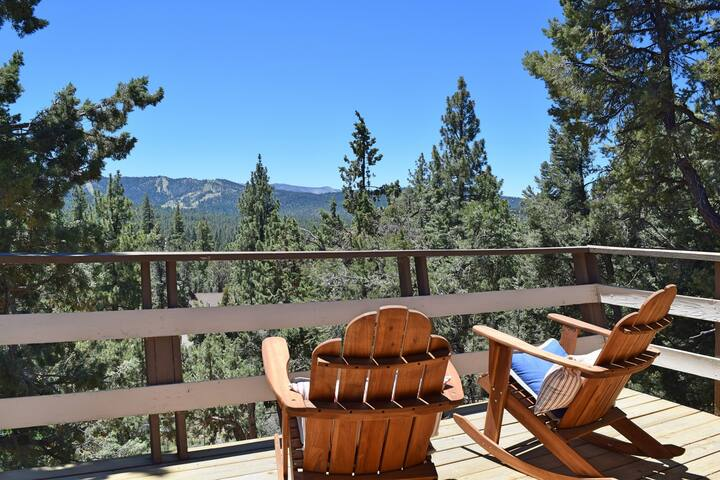 Highland House: Mountain Views! BBQ! Game Table! - Big Bear - Dom