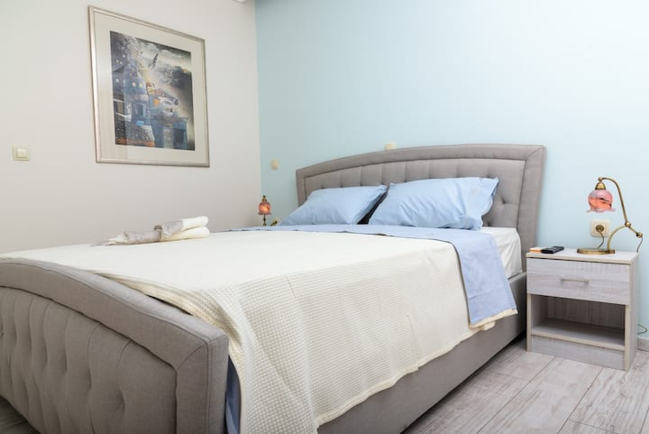 Double room , private terrace , Acropolis view