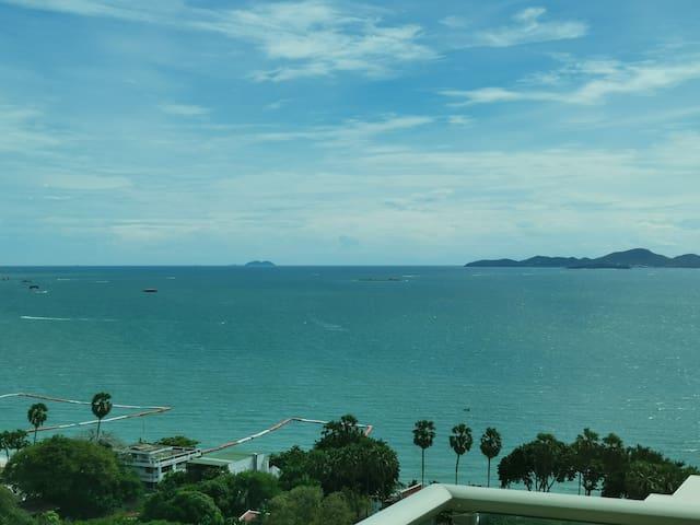 luxury full SeaView Riviera芭提雅豪华正面全屋海景高层套房