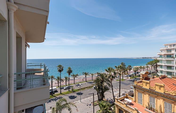 Sea View - Promenade des Anglais 1 Bdr