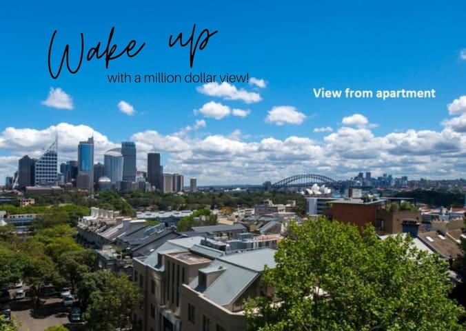 A Studio Apartment with the most Amazing View!