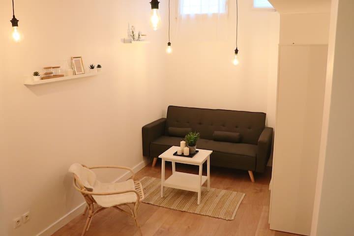 Agréable studio éco