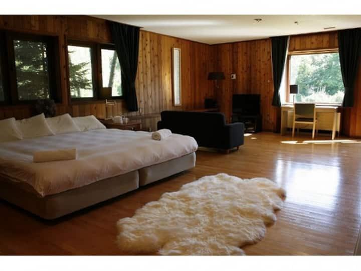 Lavender Suite at Lake Toya