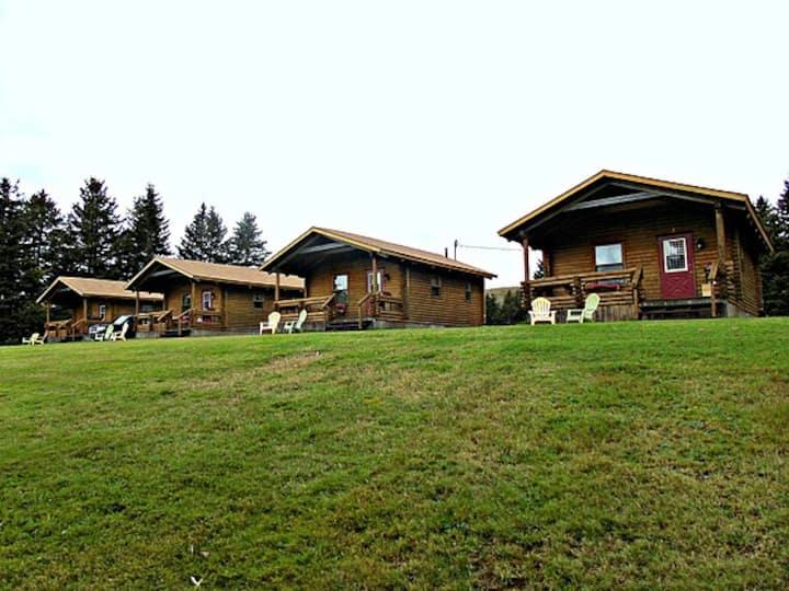 Cajun Cedar Log Cottages, Single #4
