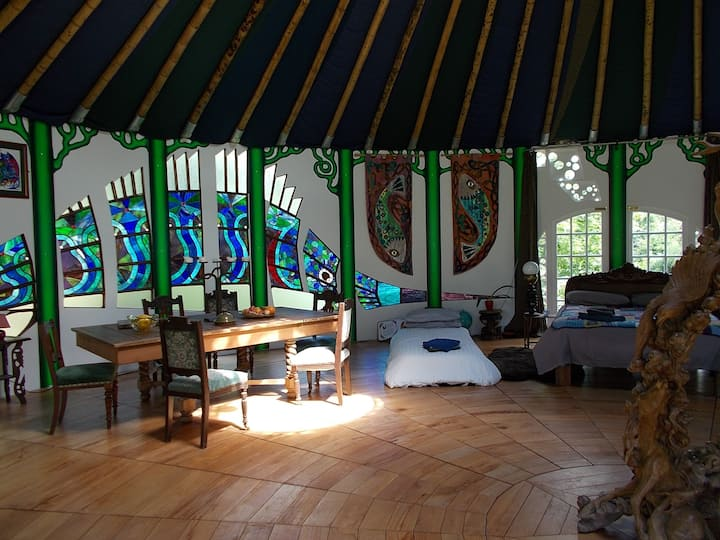 The Secret Ballroom, exquisite glamping experience