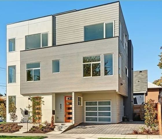 Room in brand new townhouse - Seattle - Rumah