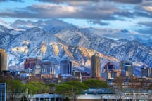 Beautiful Salt Lake City